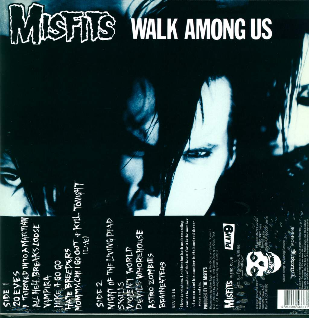 Misfits: Walk Among Us, LP (Vinyl)