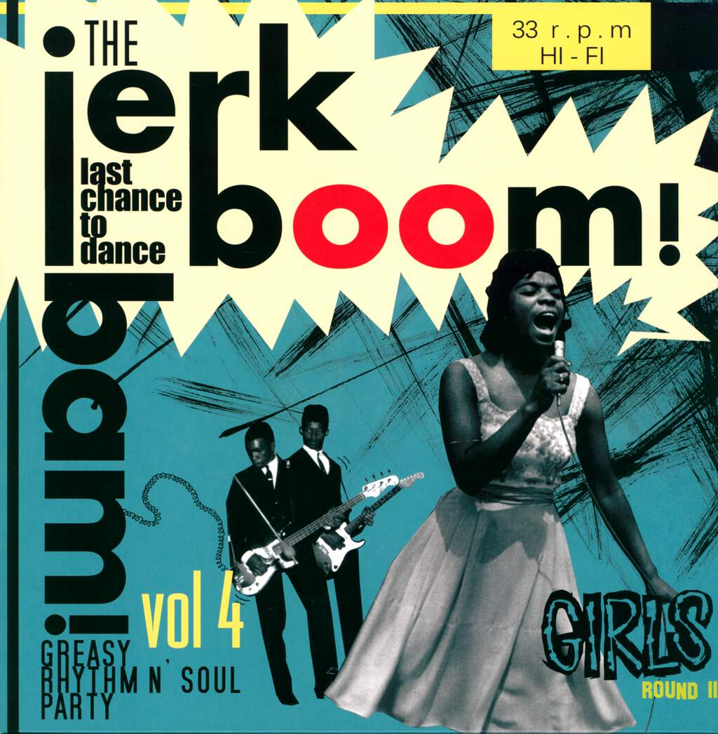 Various: Jerk Boom Bam! Vol 4 Girls Round 2, LP (Vinyl)