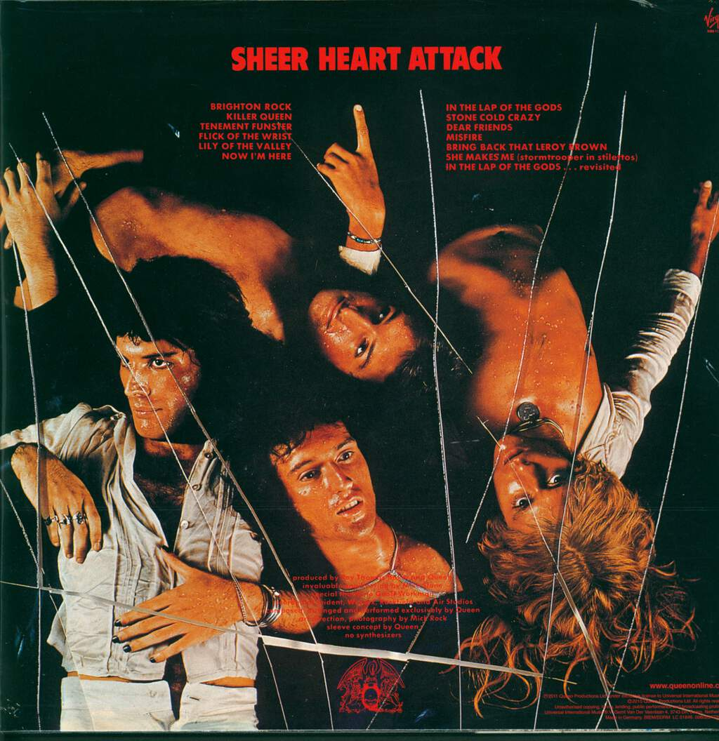 Queen: Sheer Heart Attack, LP (Vinyl)