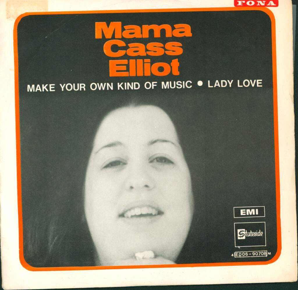 "Cass Elliot: Make Your Own Kind Of Music, 7"" Single (Vinyl)"