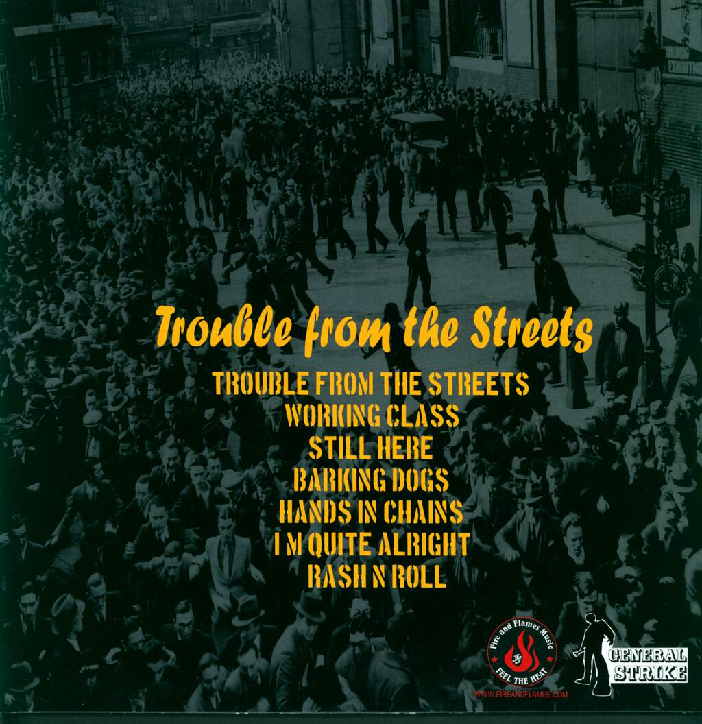 Sharp Cut: Trouble From The Streets, LP (Vinyl)