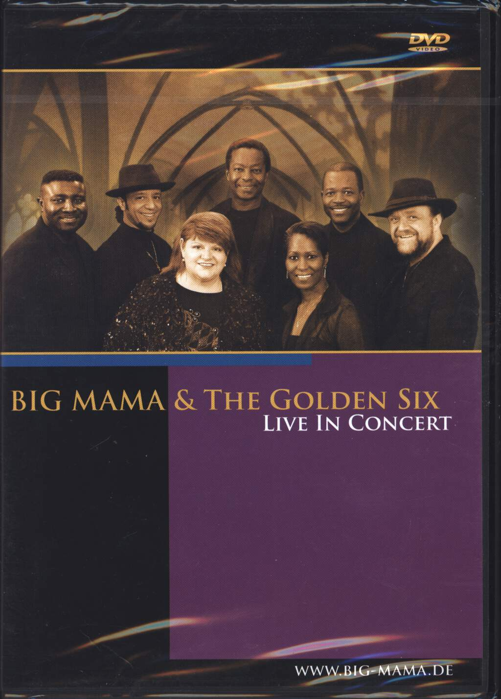 Big Mama & The Golden Six: Live In Concert, DVD