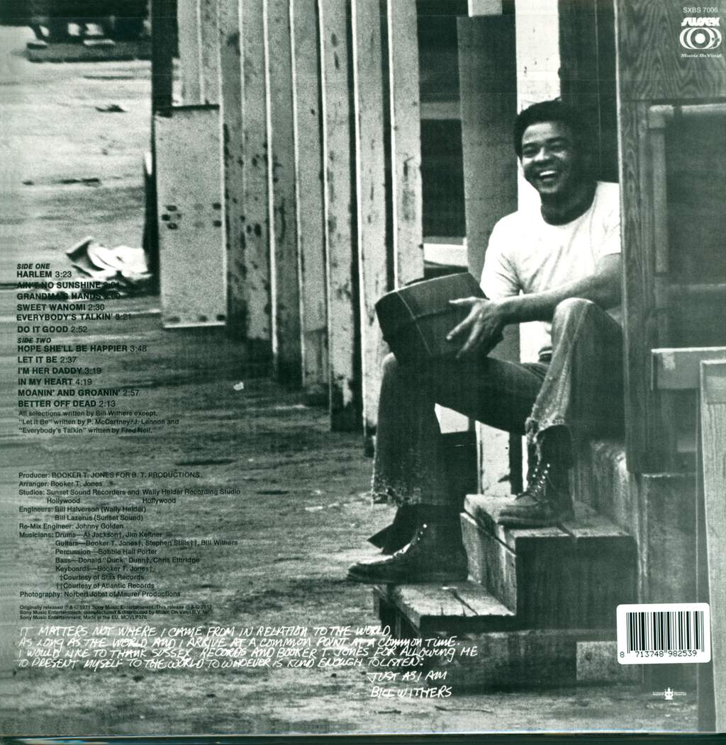 Bill Withers: Just As I Am, LP (Vinyl)