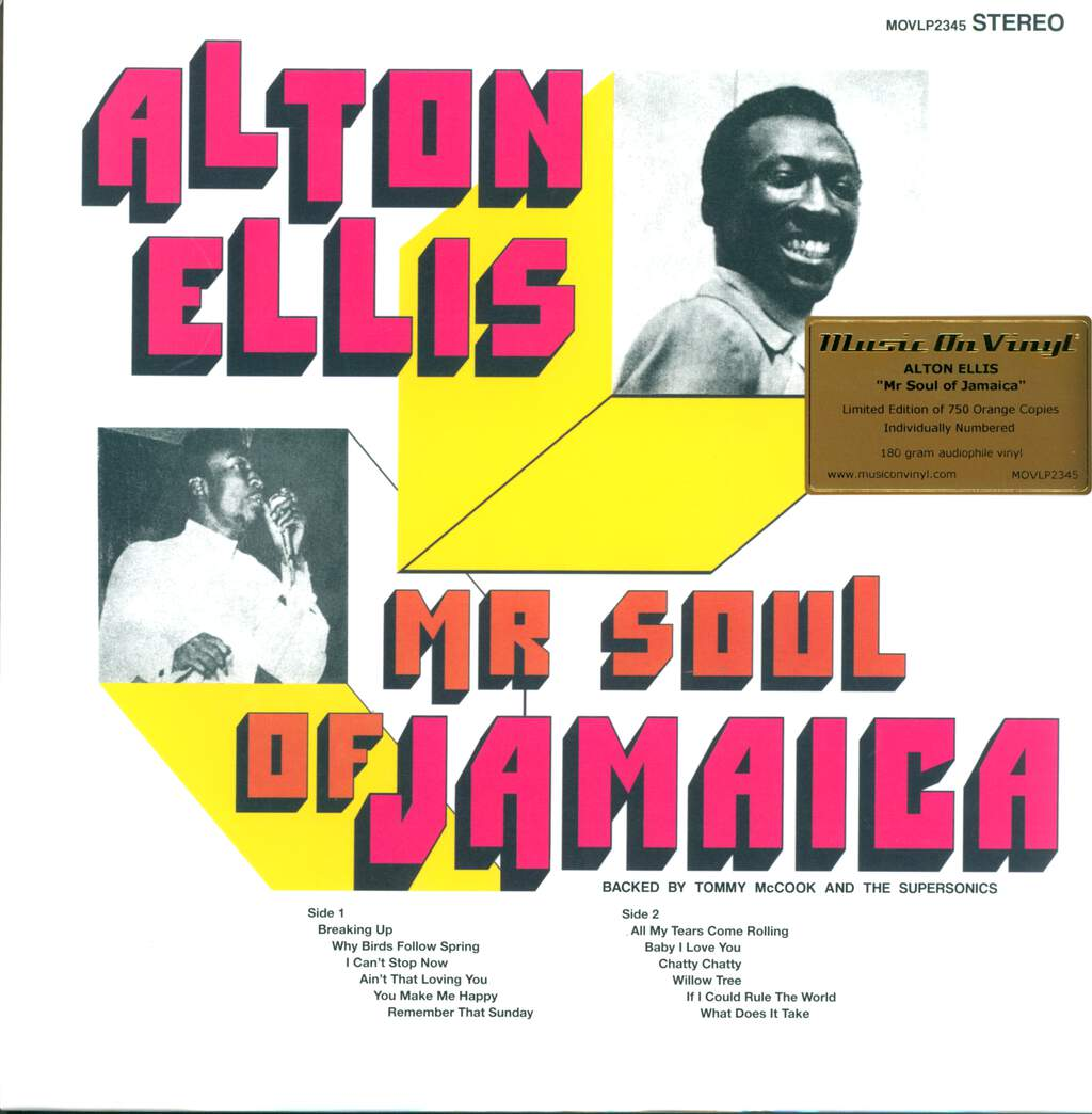 Alton Ellis: Mr Soul Of Jamaica, LP (Vinyl)