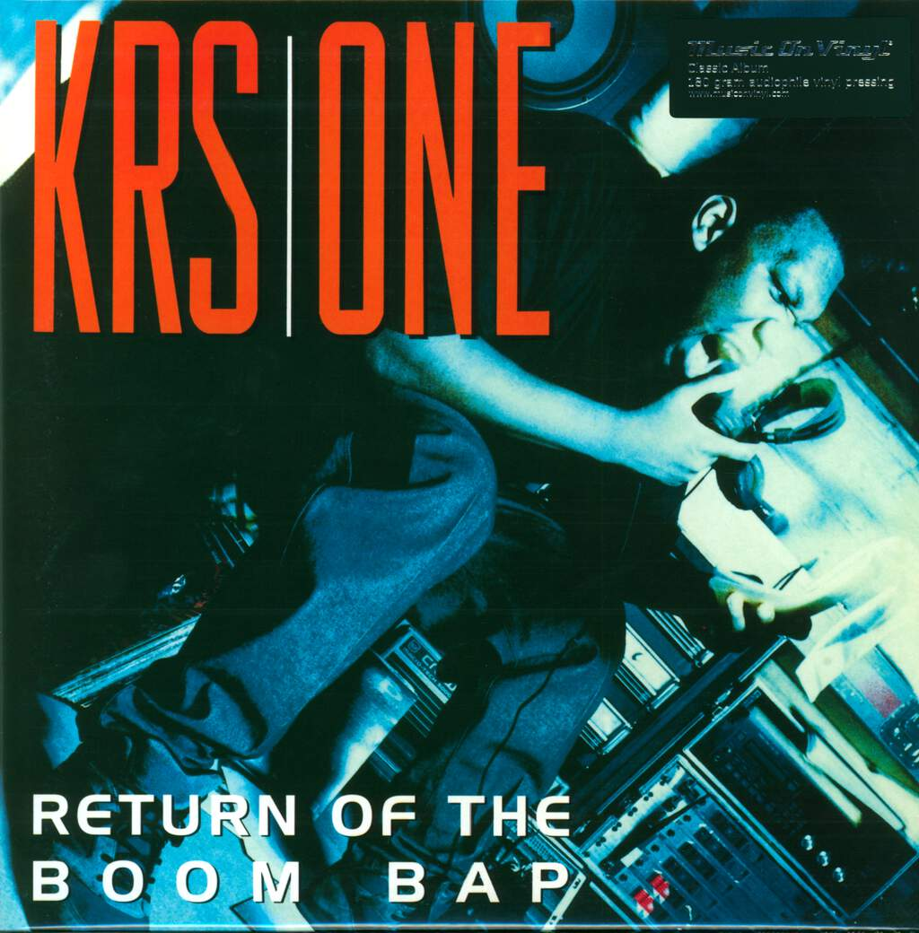 Krs-One: Return Of The Boom Bap, LP (Vinyl)