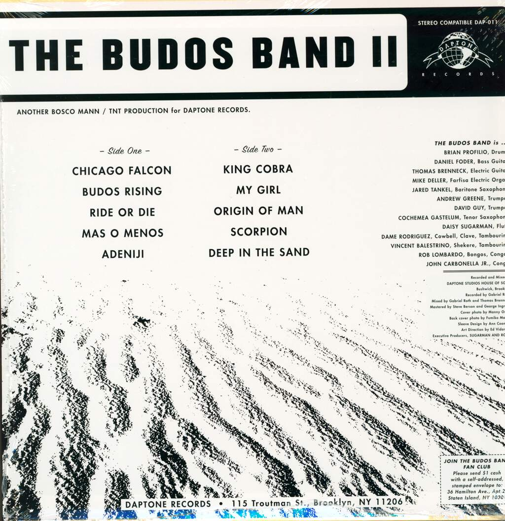 The Budos Band: The Budos Band II, LP (Vinyl)