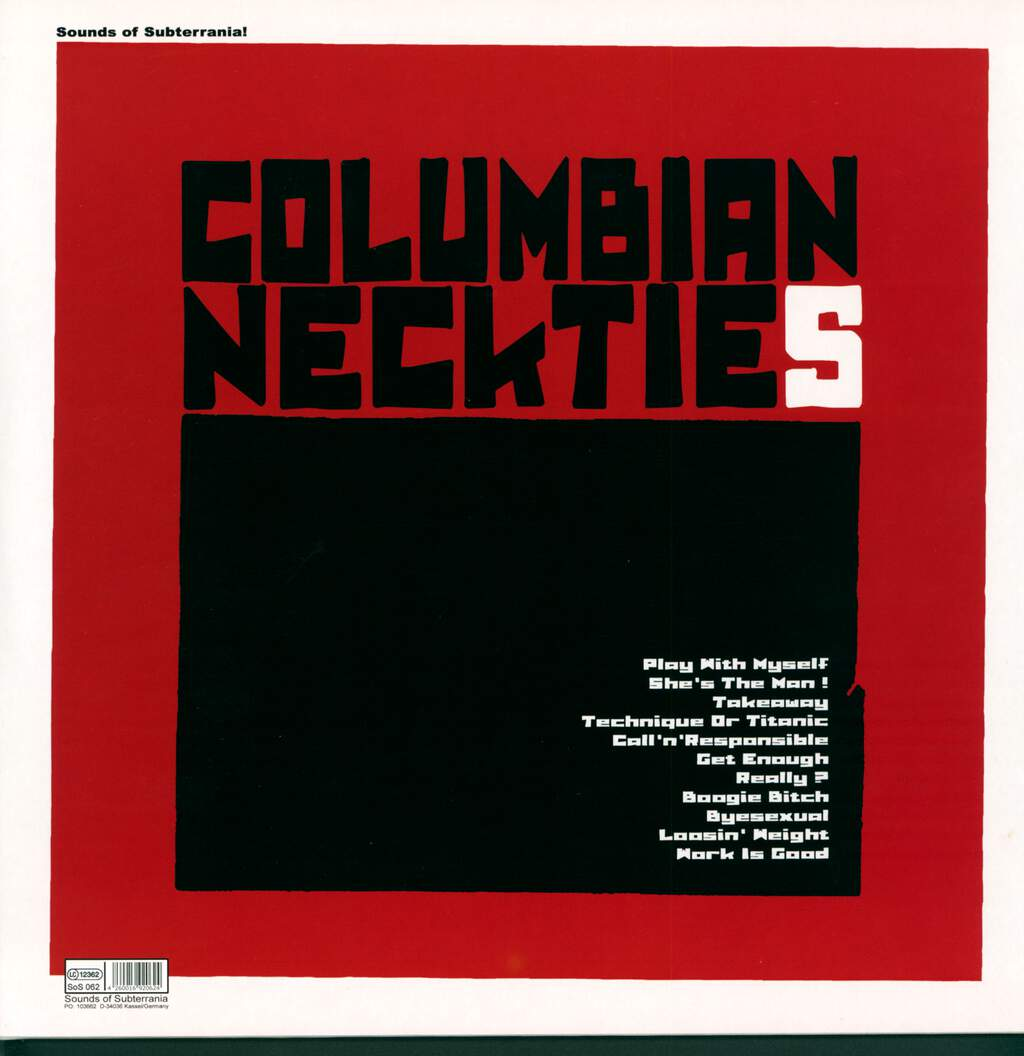 Columbian Neckties: Takeaway, LP (Vinyl)