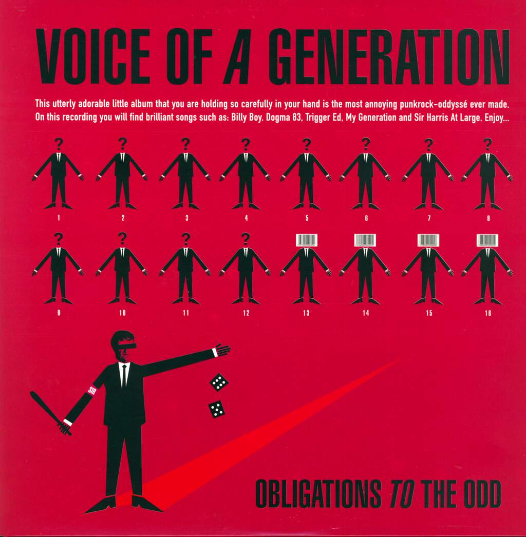 Voice Of A Generation: Obligations To The Odd, LP (Vinyl)