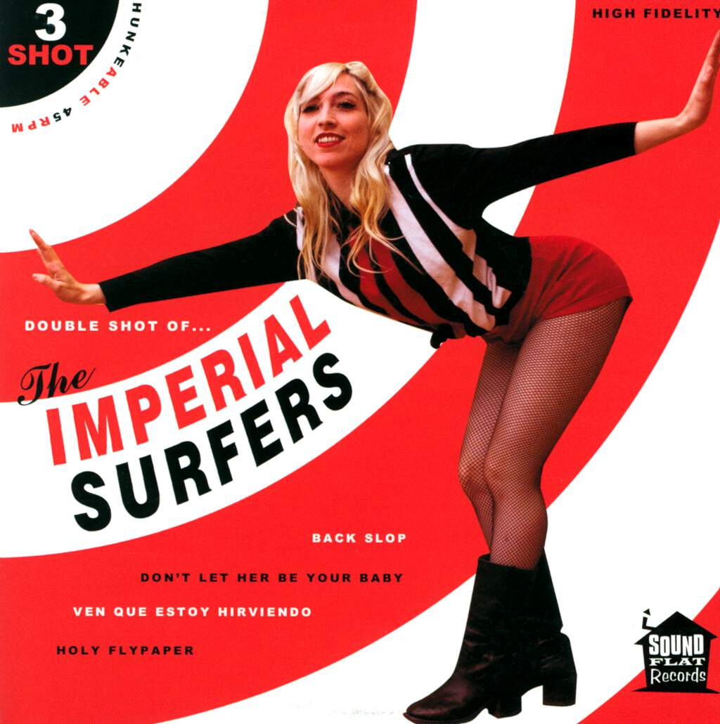 "The Imperial Surfers: 3 Shot, 7"" Single (Vinyl)"