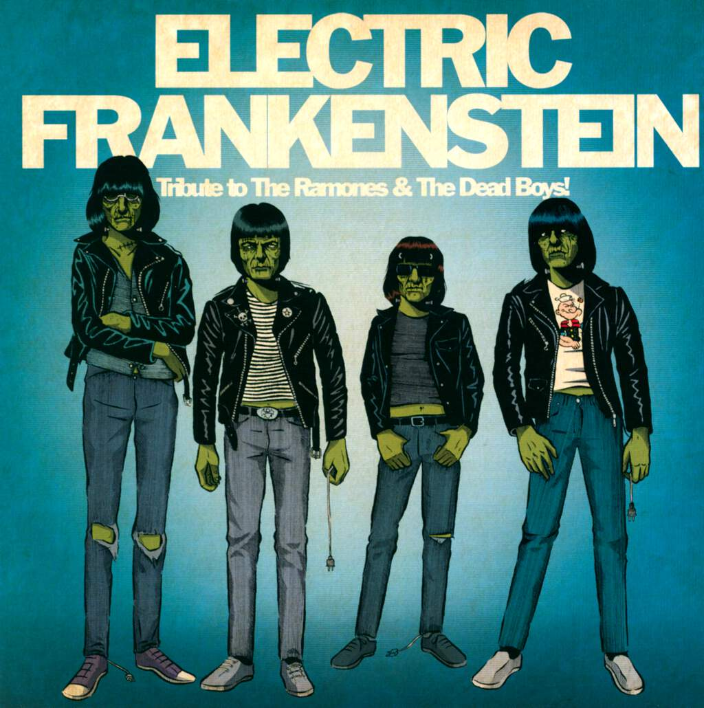 "Electric Frankenstein: Tribute To The Ramones & The Dead Boys!, 7"" Single (Vinyl)"