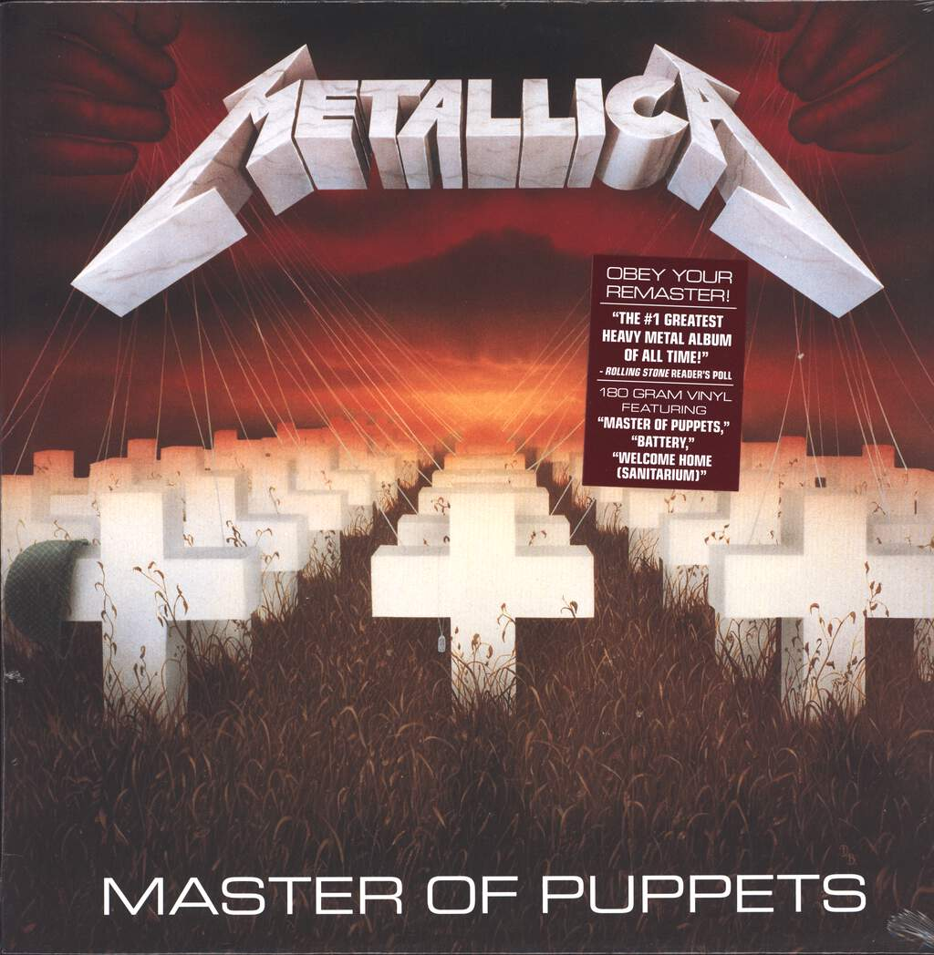 Metallica: Master Of Puppets, LP (Vinyl)