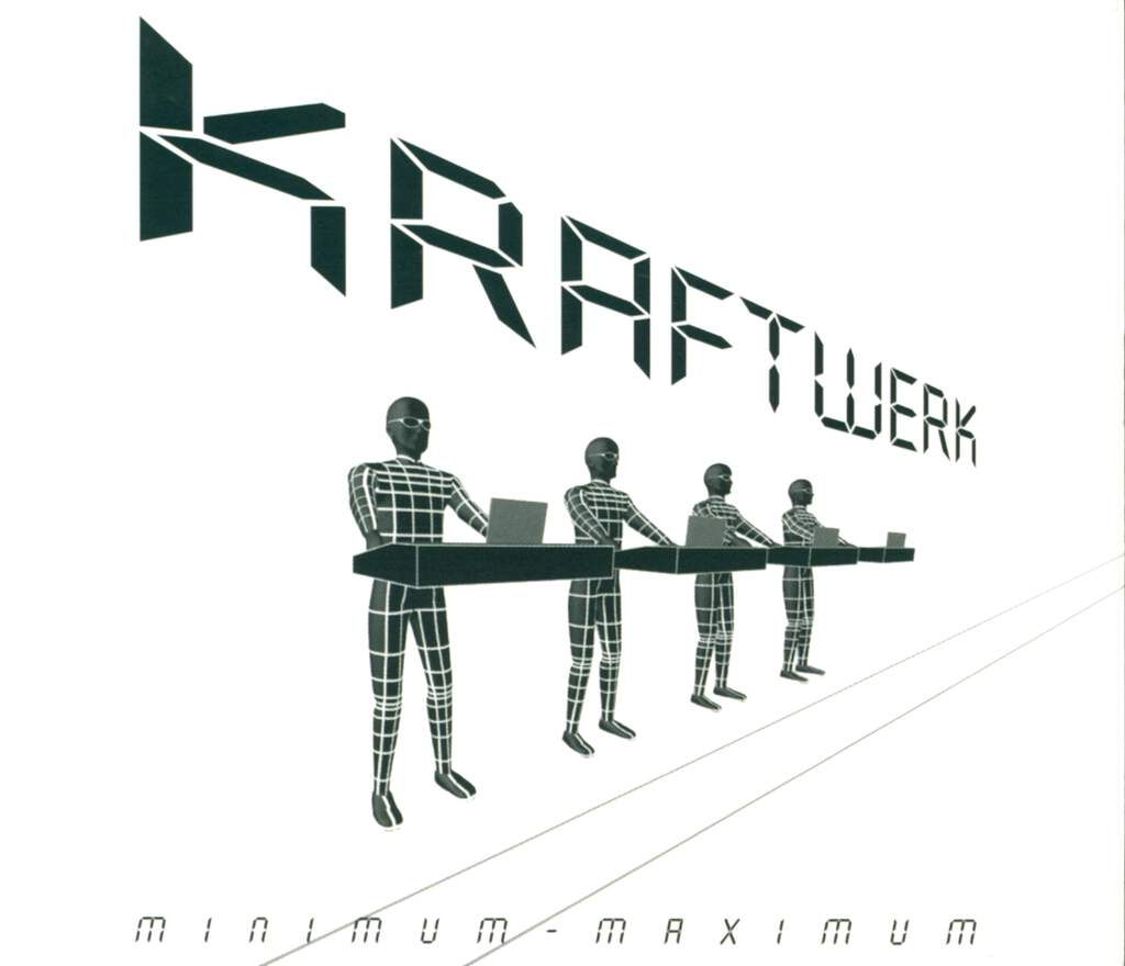 Kraftwerk: Minimum-Maximum (Deutsche Version), 2×CD