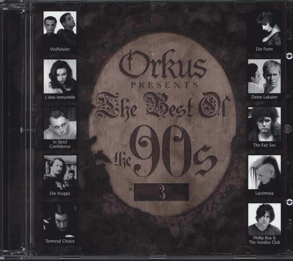 Various: Orkus Presents The Best Of The 90s 3, CD