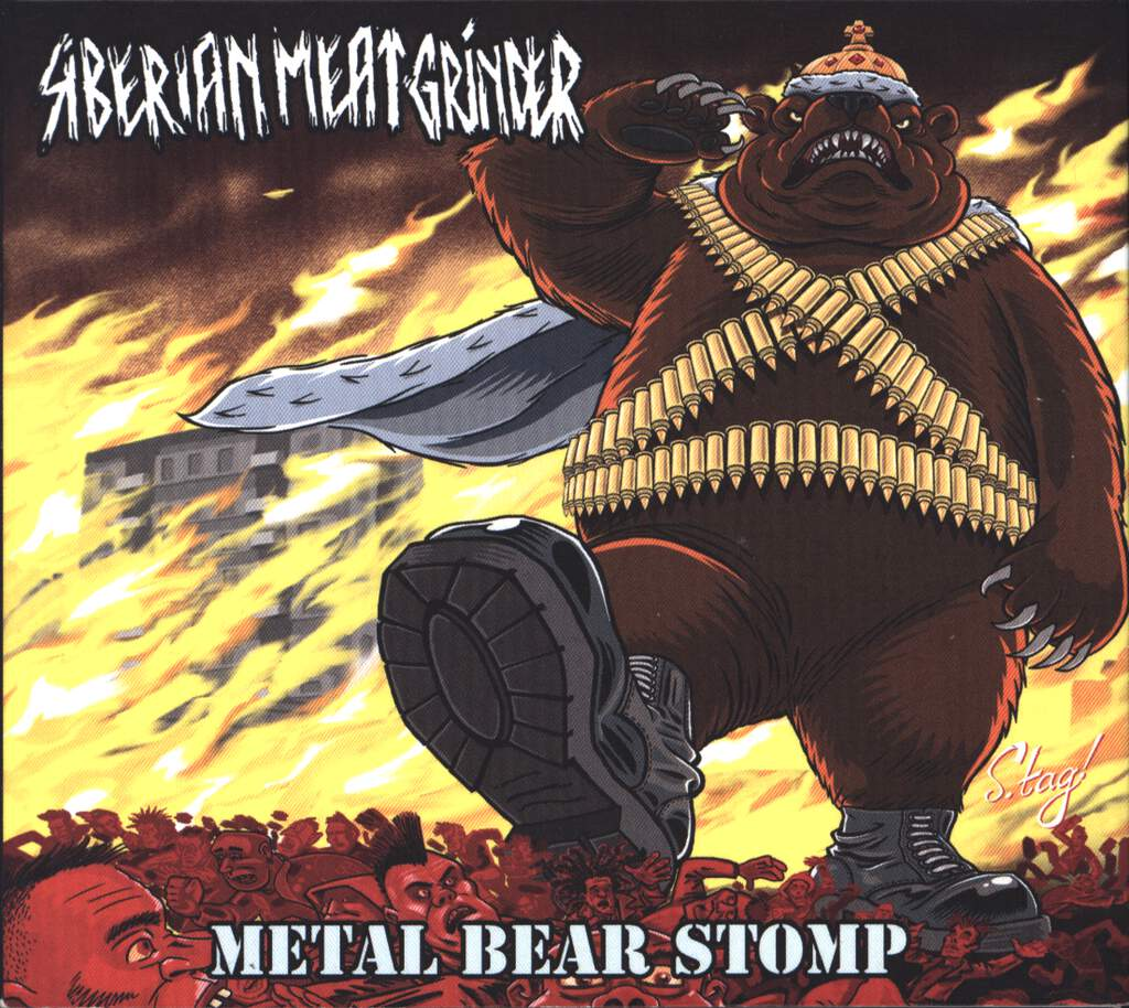 Siberian Meat Grinder: Metal Bear Stomp, CD