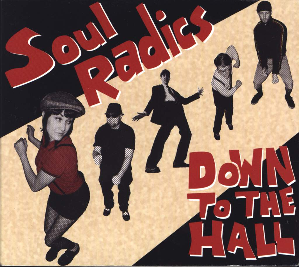 Soul Radics: Down To The Hall, CD