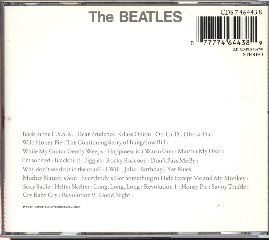 The Beatles: The Beatles, 2×CD