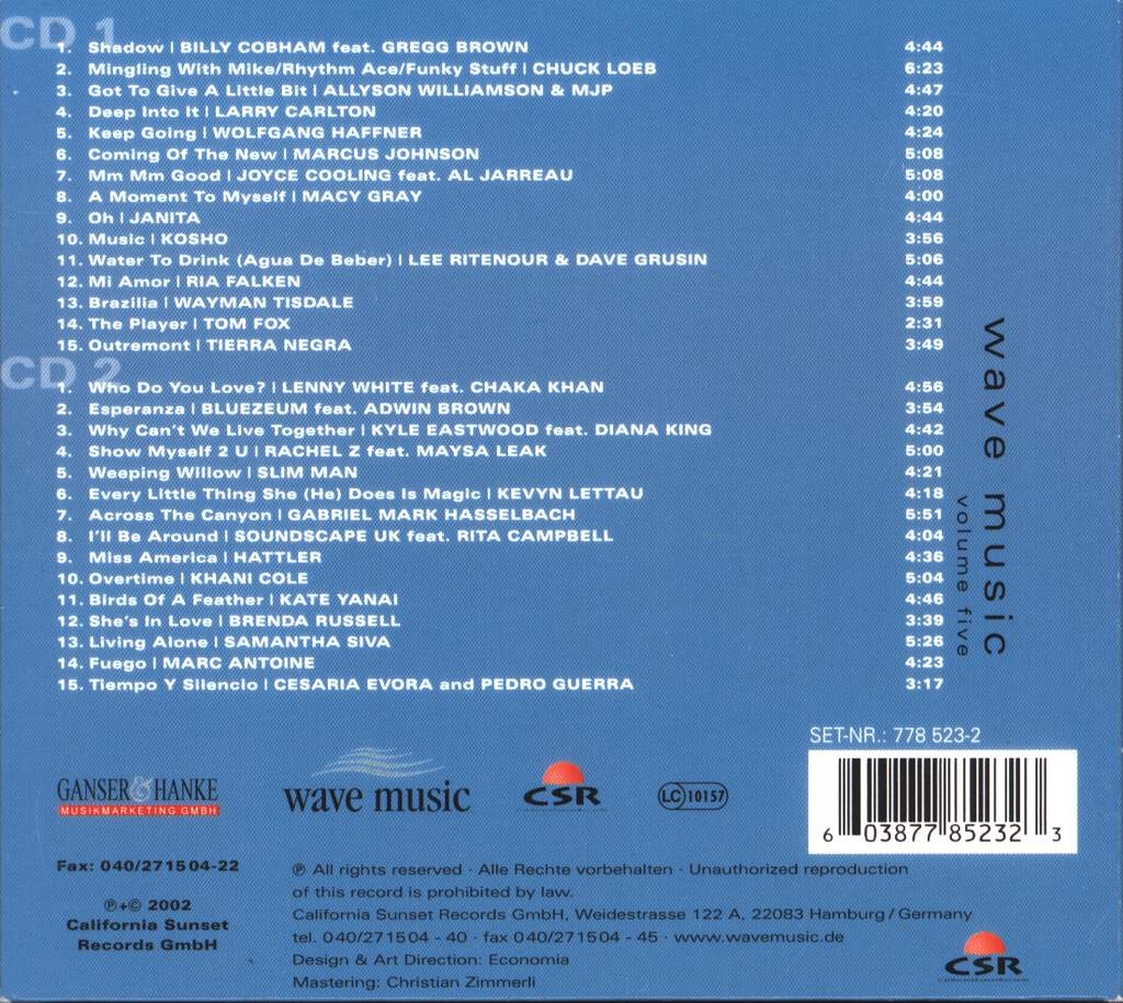 Various: Wave Music Volume 5, CD