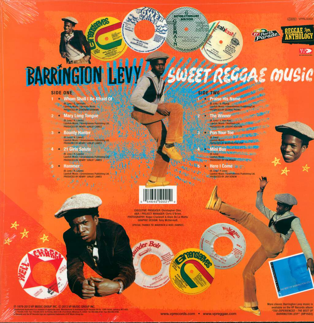Barrington Levy: Sweet Reggae Music, LP (Vinyl)