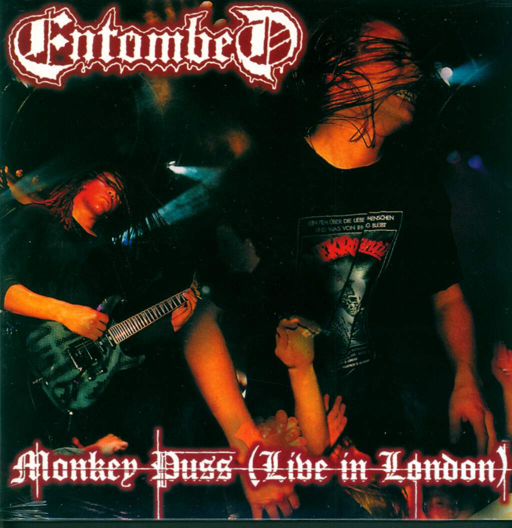 Entombed: Monkey Puss (Live In London), LP (Vinyl)