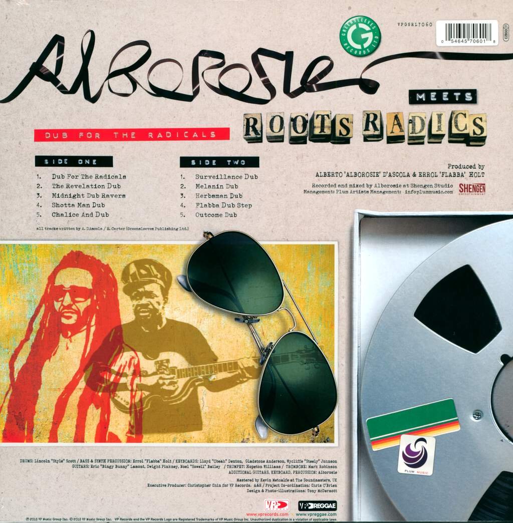 Alborosie: Dub For The Radicals, LP (Vinyl)