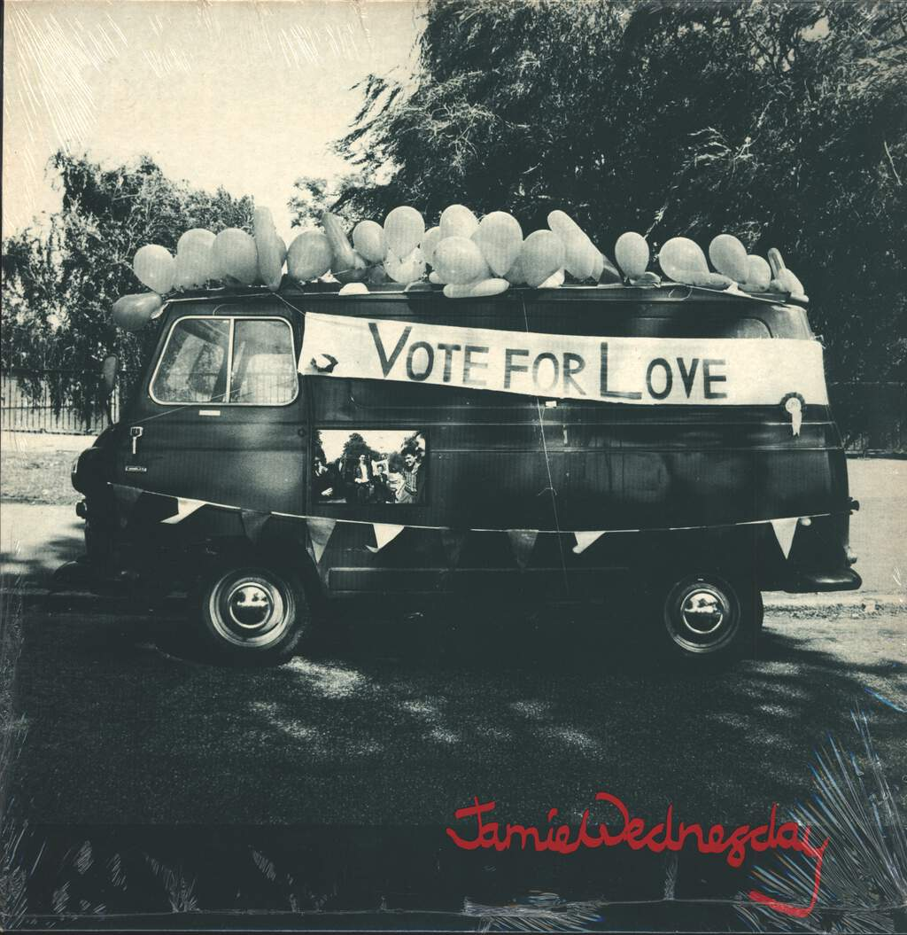 "Jamie Wednesday: Vote For Love, 12"" Maxi Single (Vinyl)"