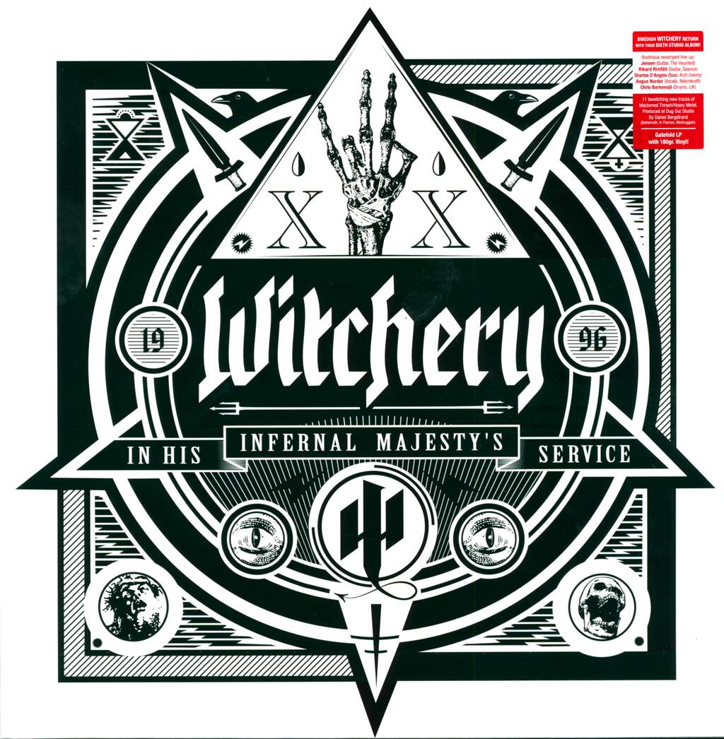 Witchery: In His Infernal Majesty's Service, LP (Vinyl)