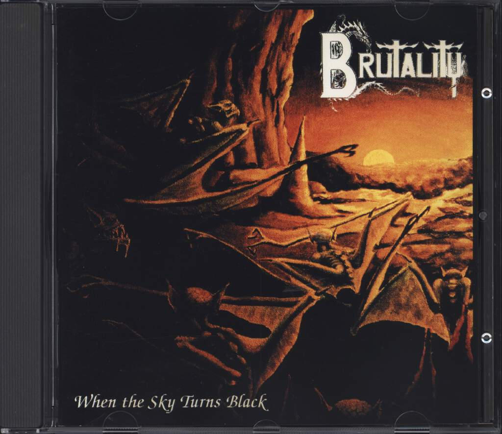 Brutality: When The Sky Turns Black, CD