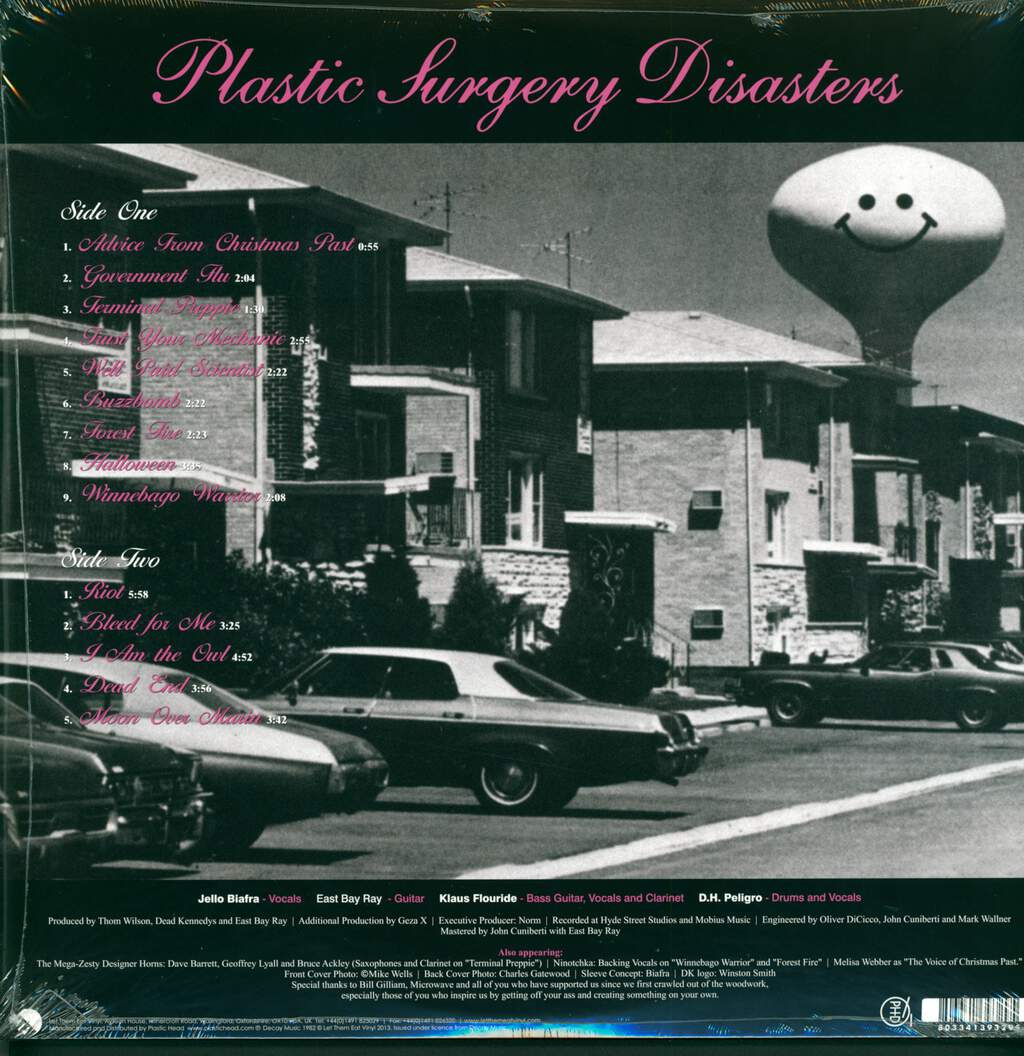 Dead Kennedys: Plastic Surgery Disasters, LP (Vinyl)
