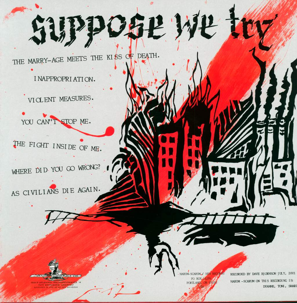 Harum-Scarum: Suppose We Try, LP (Vinyl)