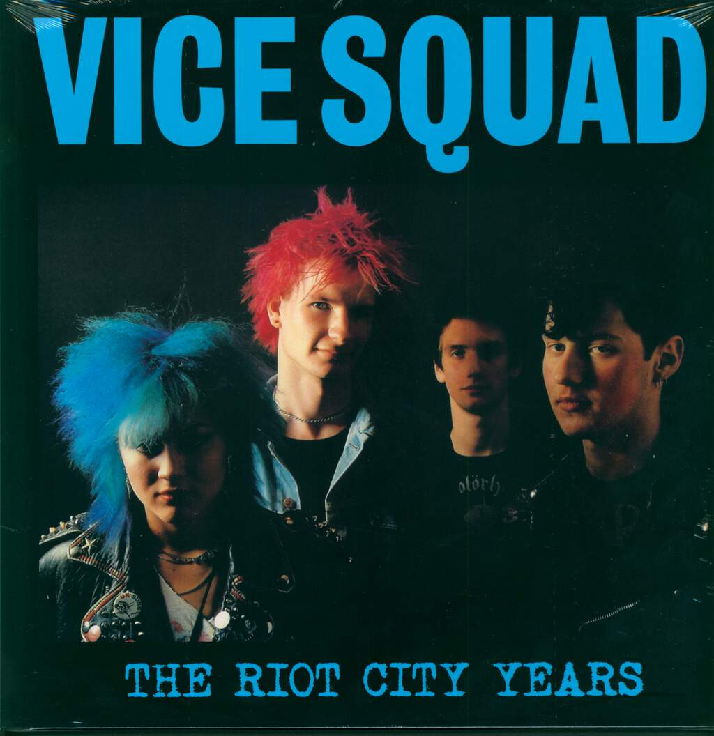 Vice Squad: The Riot City Years, LP (Vinyl)