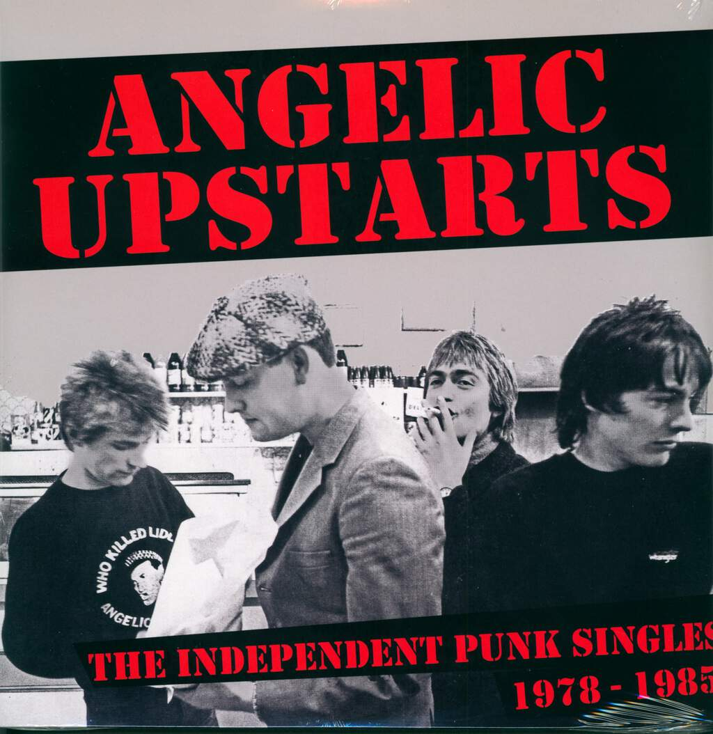 Angelic Upstarts: The Independent Punk Singles Collection, LP (Vinyl)