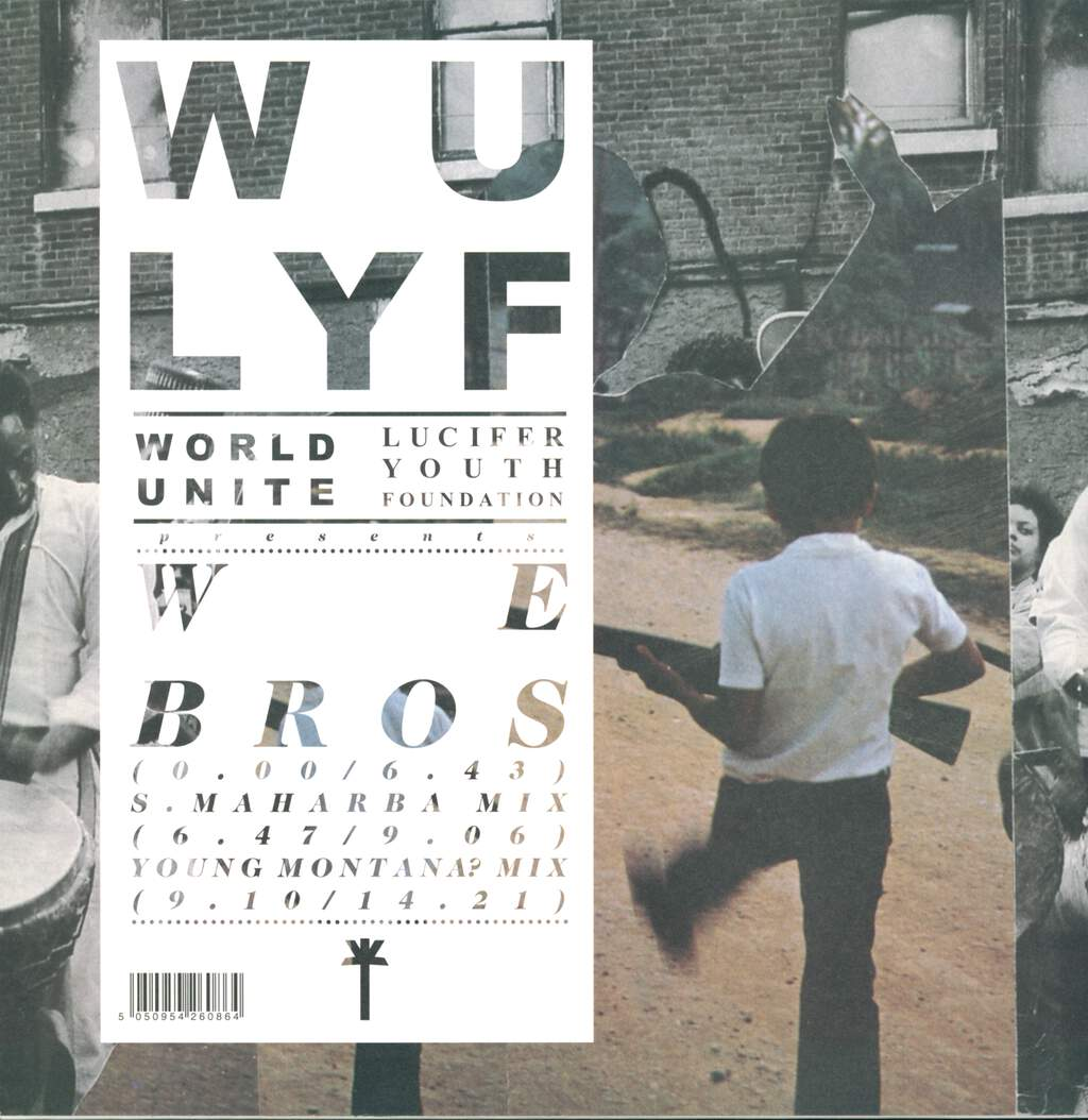 "Wu Lyf: We Bros, 12"" Maxi Single (Vinyl)"