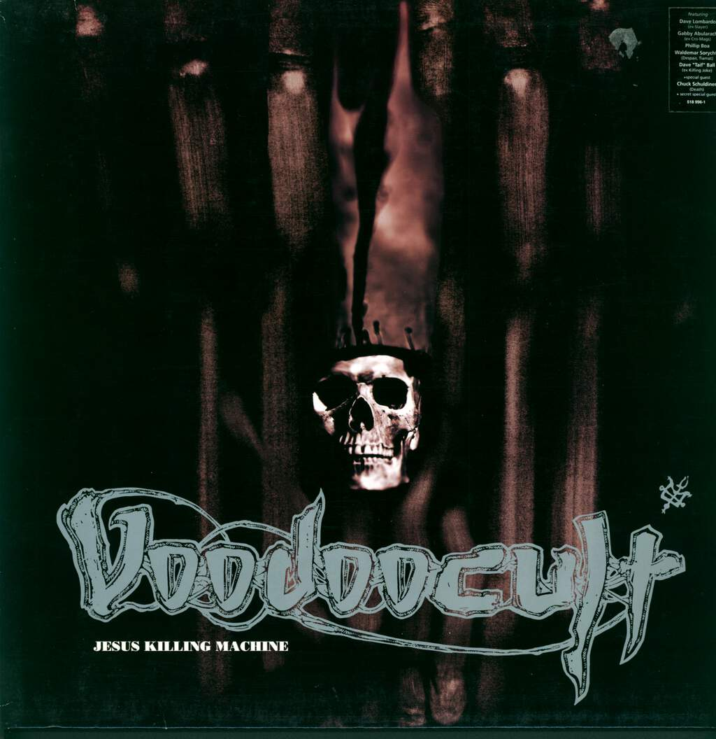 Voodoocult: Jesus Killing Machine, LP (Vinyl)