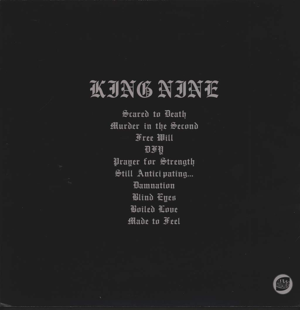 King Nine: Scared To Death, LP (Vinyl)