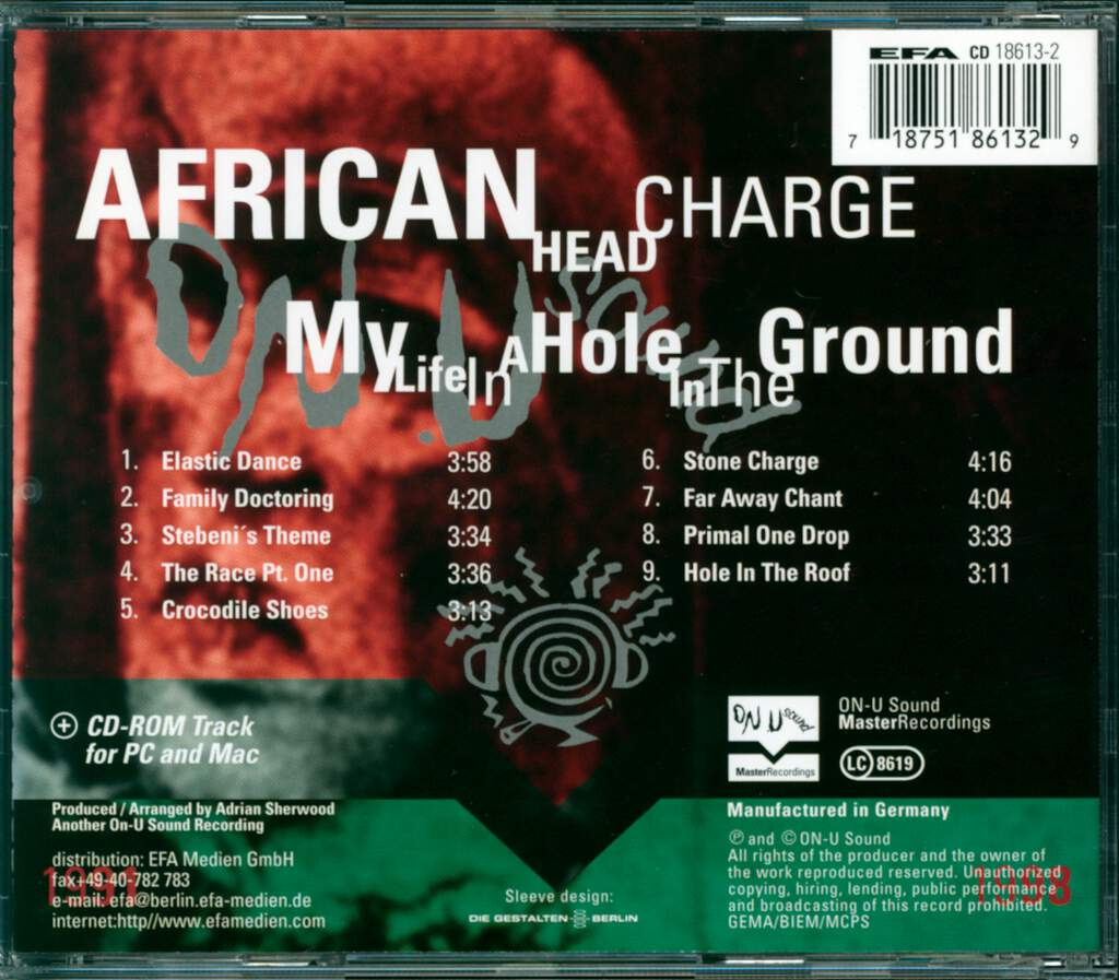 African Head Charge: My Life In A Hole In The Ground, CD