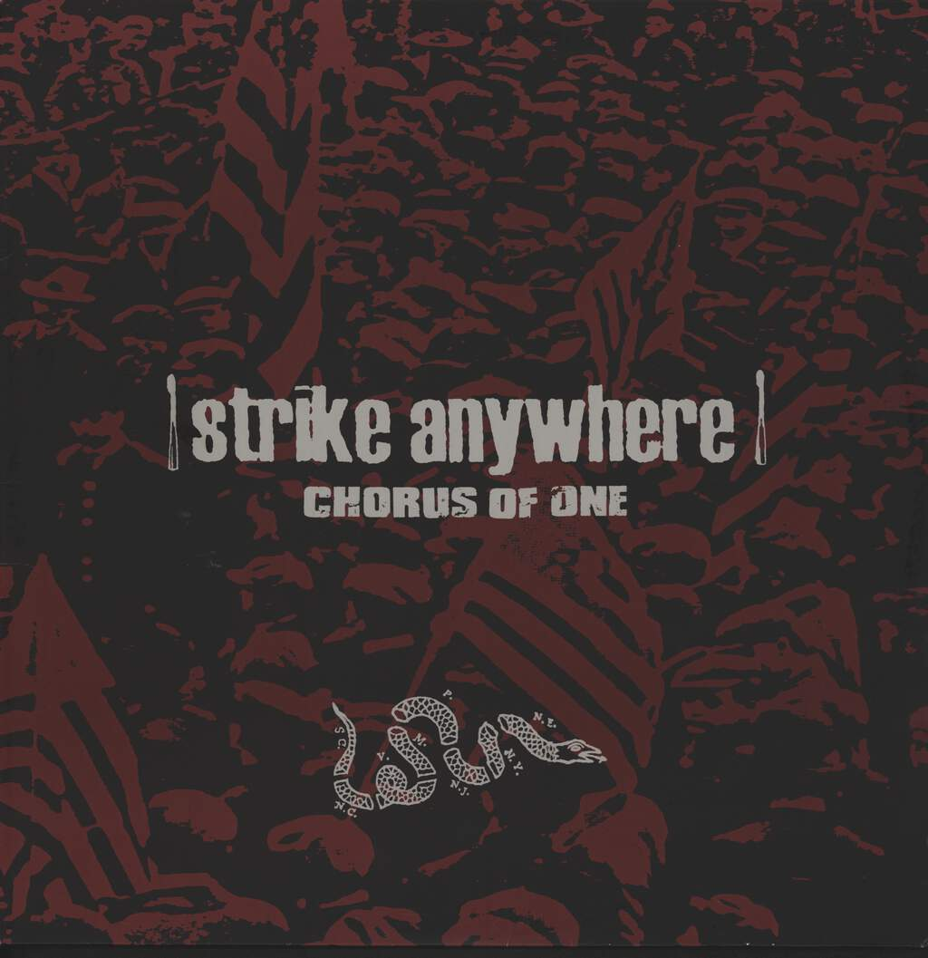 "Strike Anywhere: Chorus Of One, 12"" Maxi Single (Vinyl)"