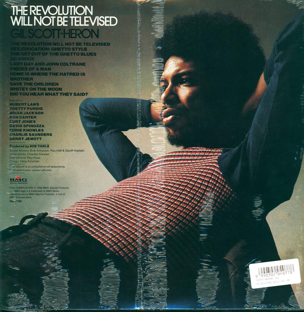Gil Scott-Heron: The Revolution Will Not Be Televised, LP (Vinyl)