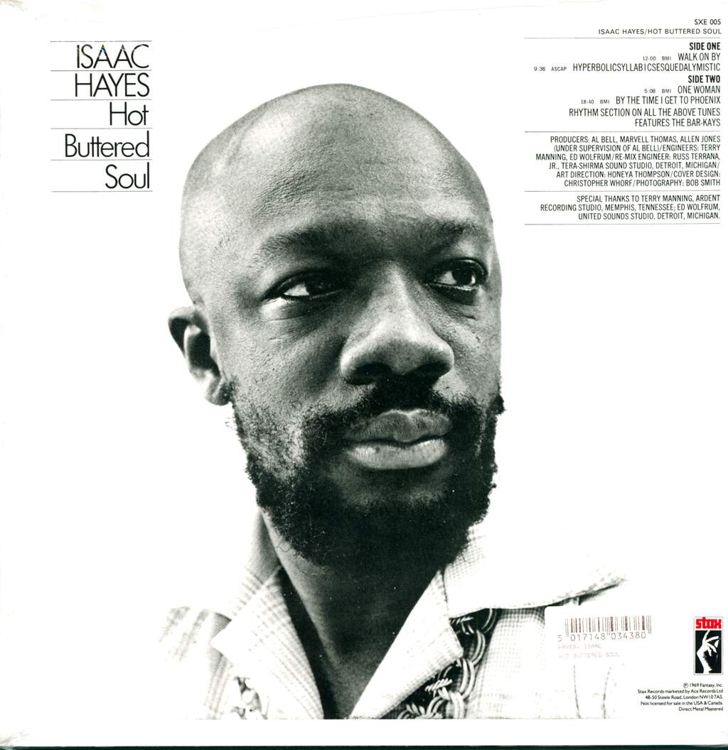 Isaac Hayes: Hot Buttered Soul, LP (Vinyl)