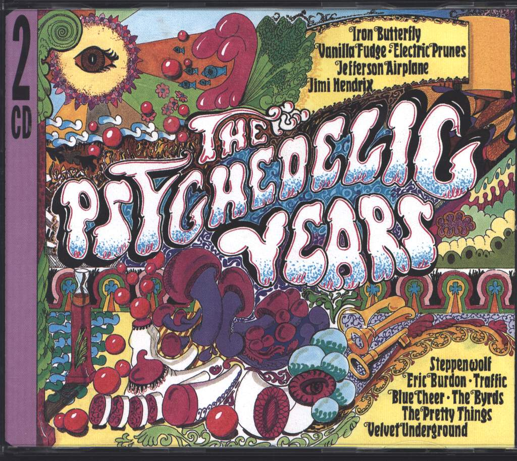 Various: The Psychedelic Years, 2×CD