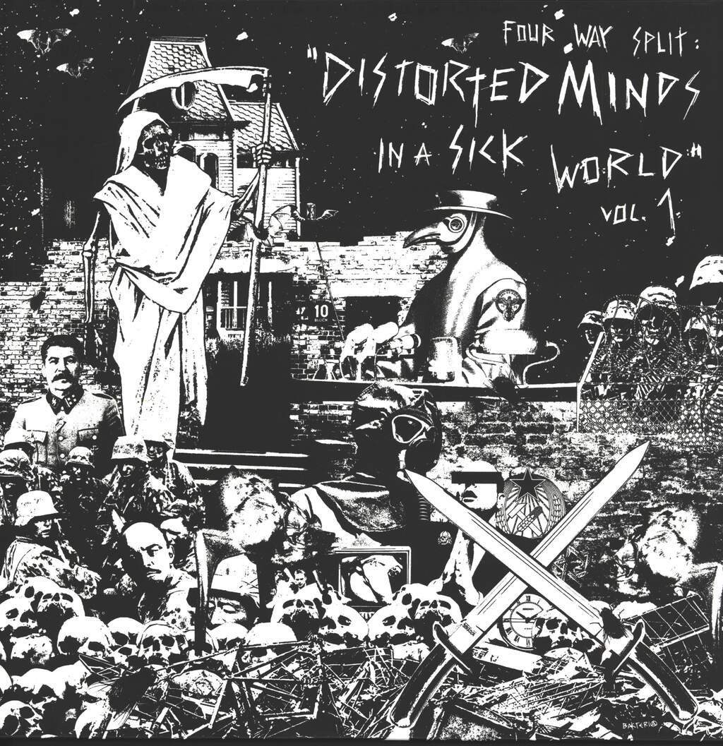 Fear Of Extinction: Distorted Minds In A Sick World Vol. 1, LP (Vinyl)