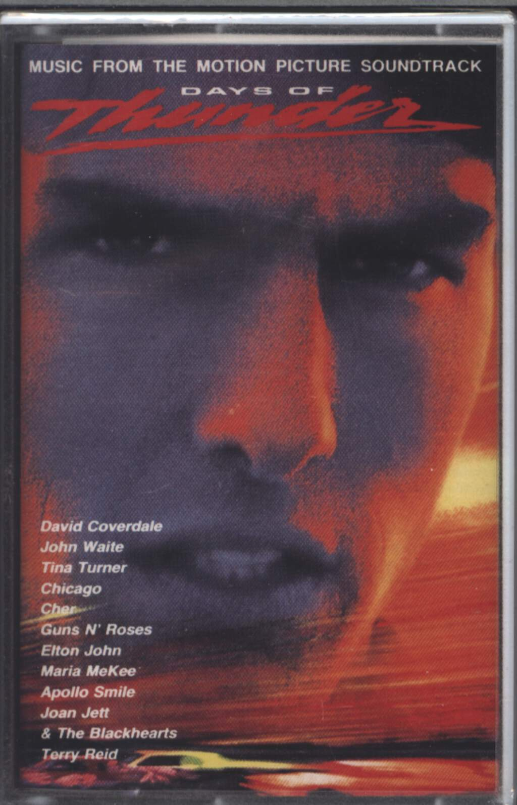Various: Days Of Thunder (Music From The Motion Picture Soundtrack), Tape