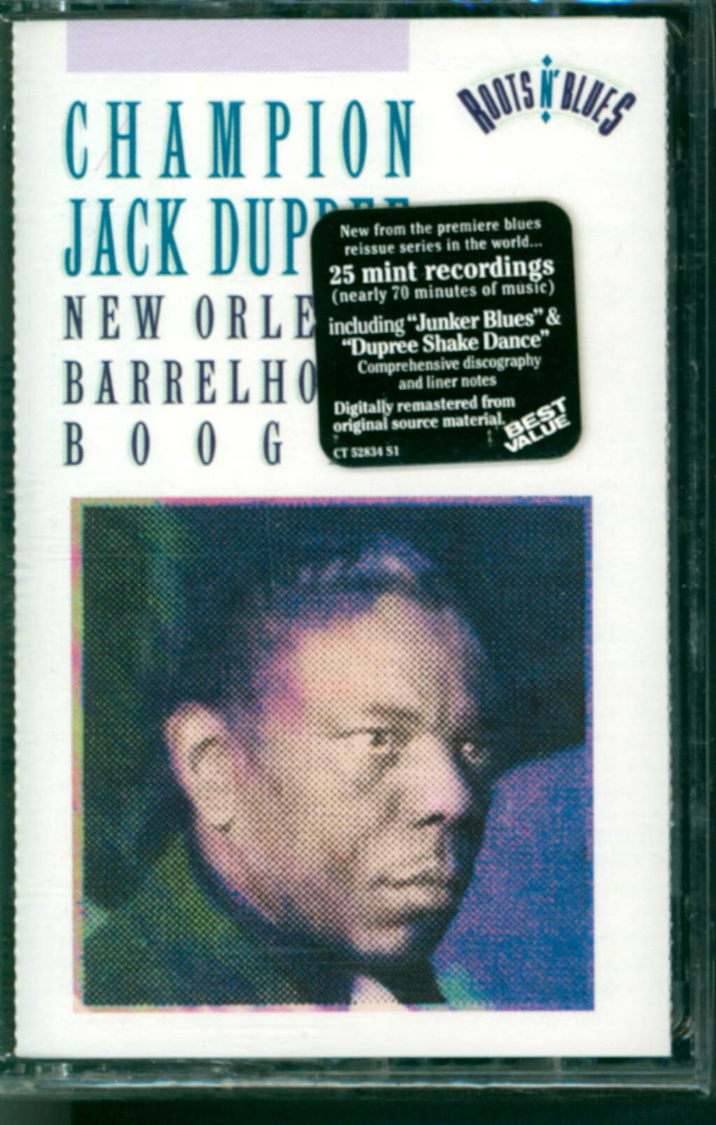 Champion Jack Dupree: New Orleans Barrelhouse Boogie, Tape