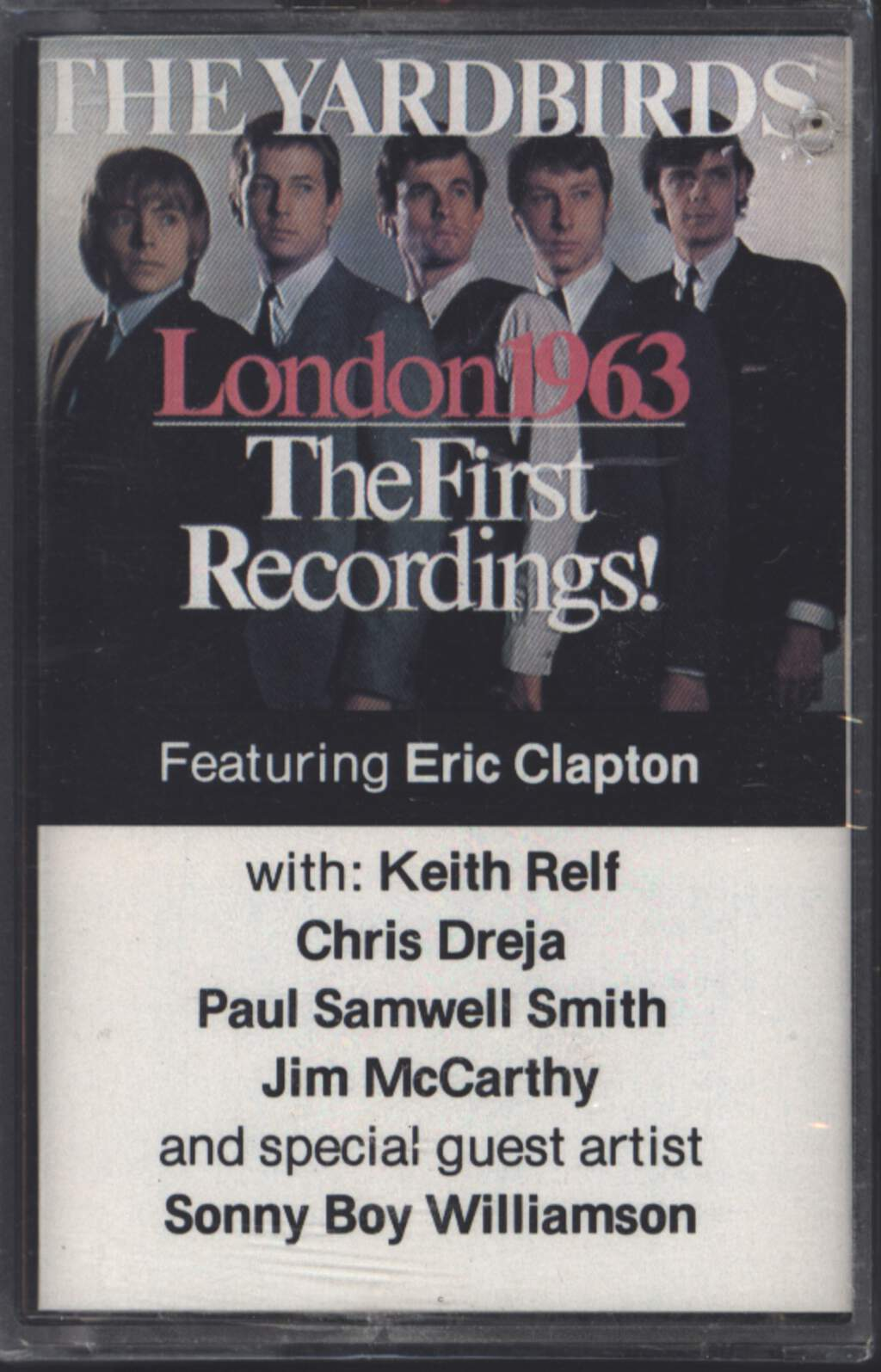 The Yardbirds: London 1963 - The First Recordings!, Tape
