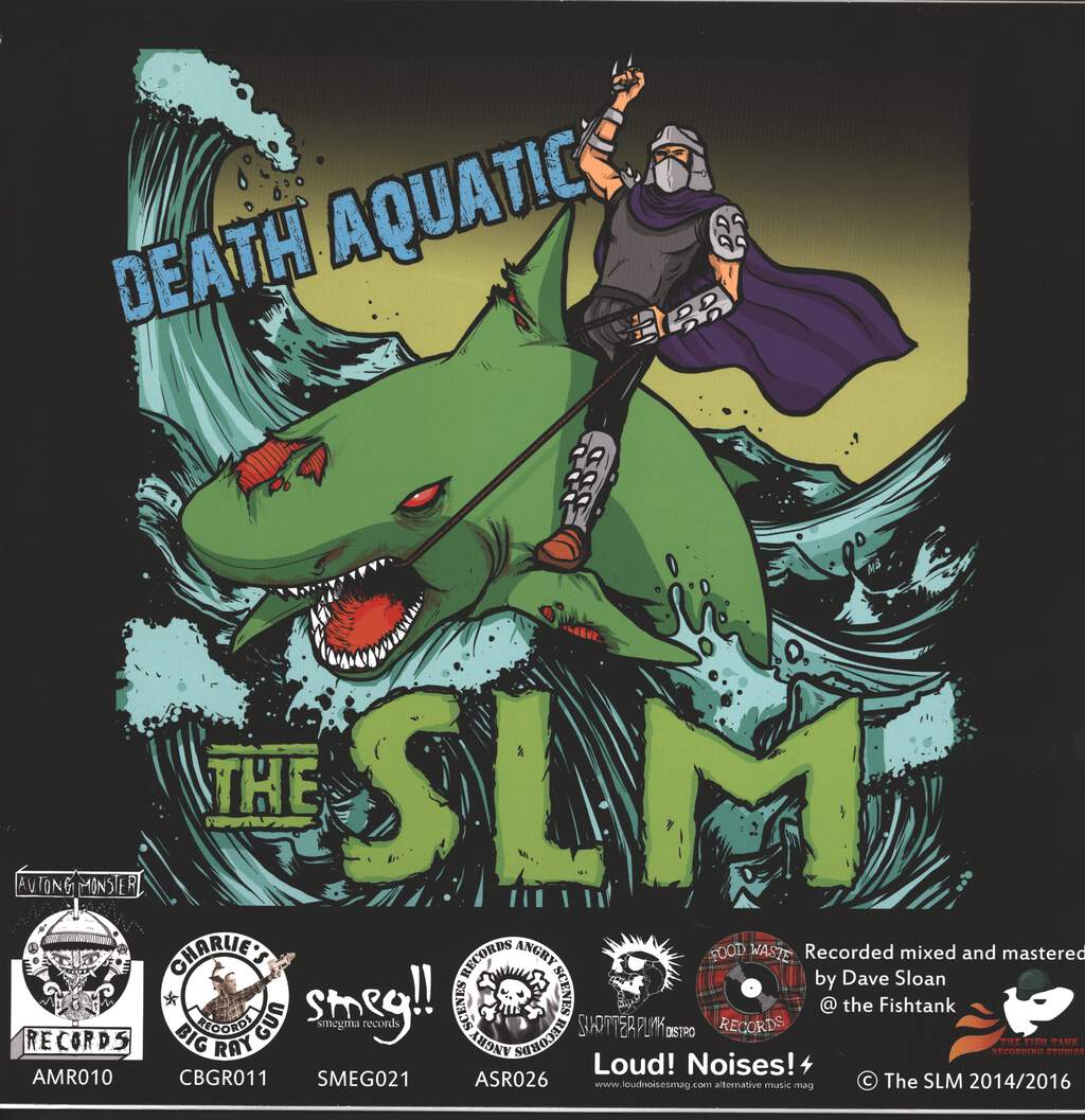 The SLM: Death Jurassic / Death Aquatic, LP (Vinyl)