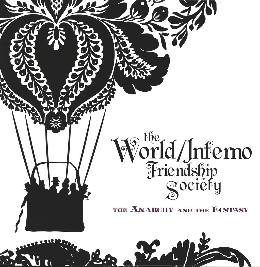 The World / Inferno Friendship Society: The Anarchy And The Ecstacy, LP (Vinyl)