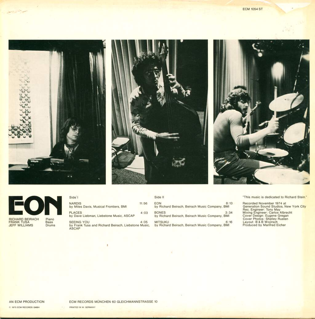 Richard Beirach: Eon, LP (Vinyl)
