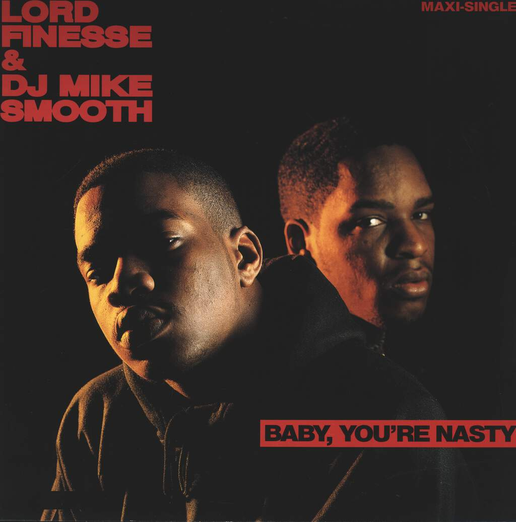 "Lord Finesse: Baby, You're Nasty, 12"" Maxi Single (Vinyl)"