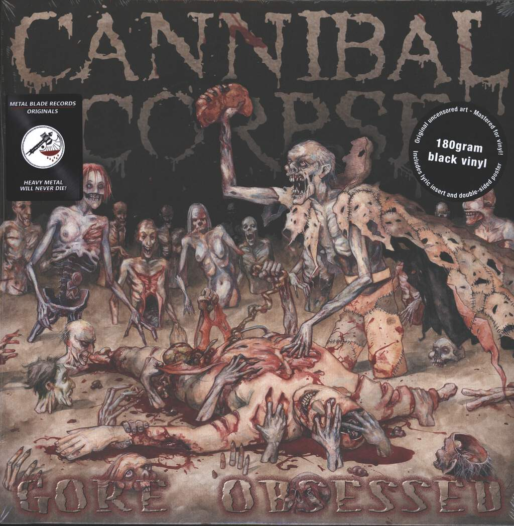 Cannibal Corpse: Gore Obsessed, LP (Vinyl)