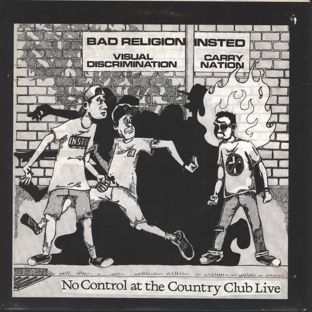 "Various: No Control At The Country Club Live, 7"" Single (Vinyl)"