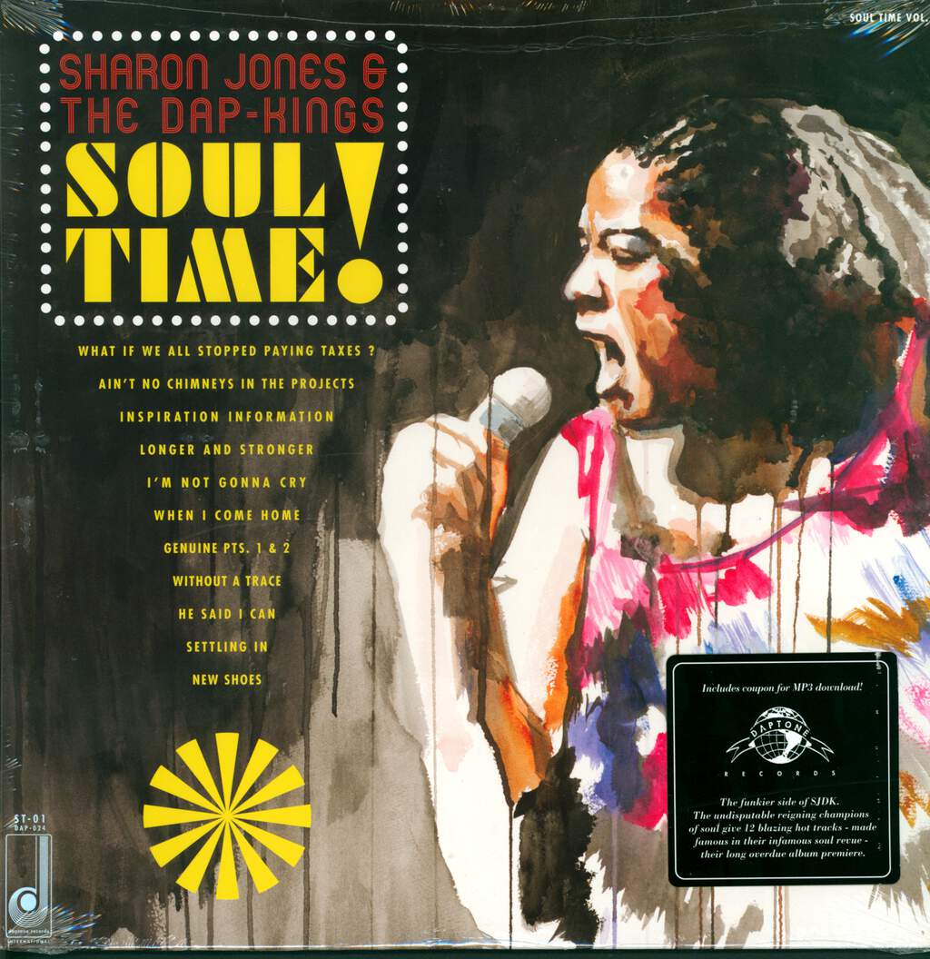 Sharon Jones & The Dap-Kings: Soul Time!, LP (Vinyl)